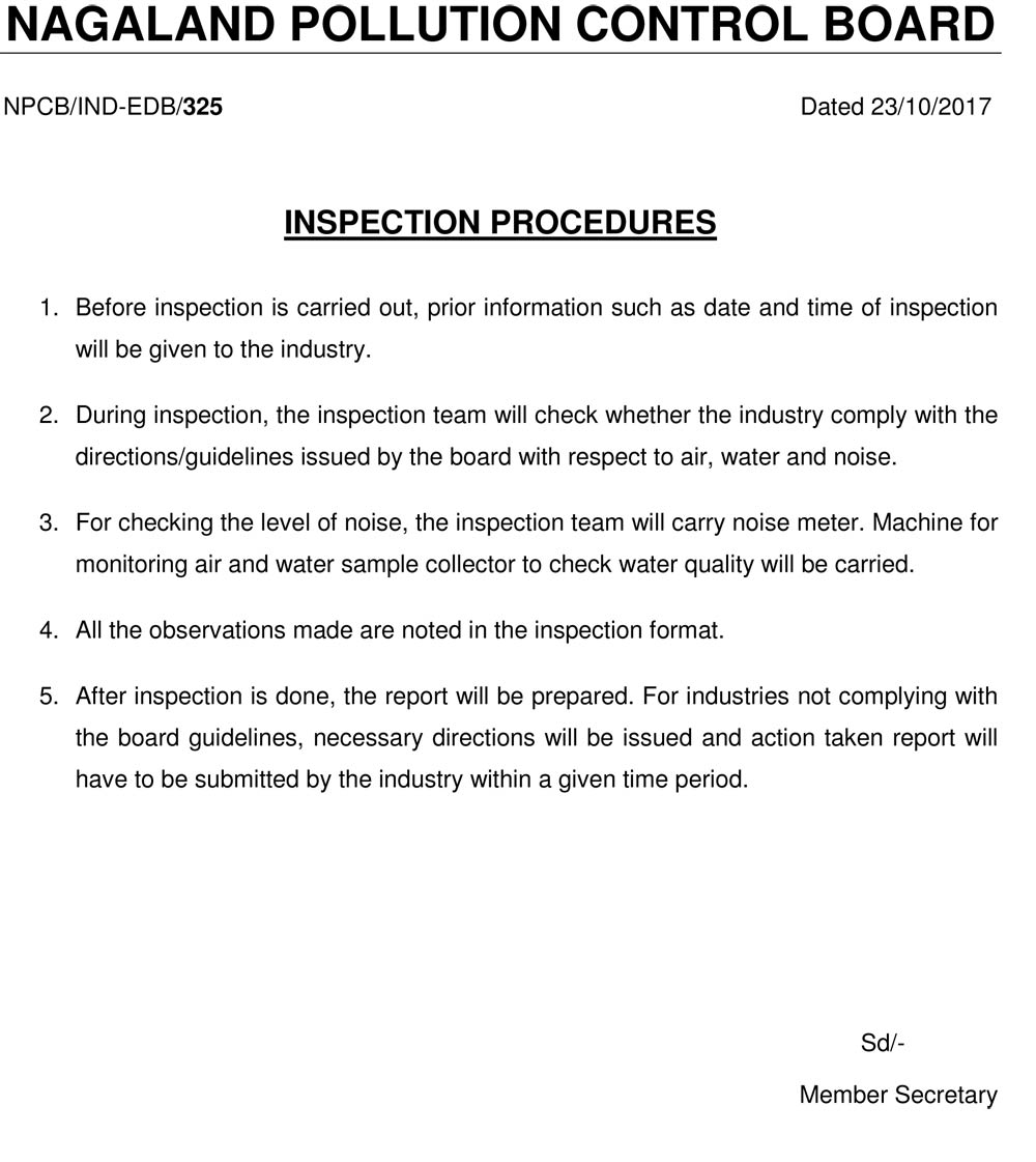 Inspection-Procedures