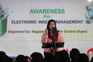 Awareness Programme on E Waste at Immanuel Higher Secondary School Zunheboto