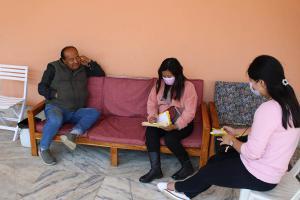 Household Survey on waste management at Zunheboto