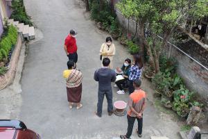 Household survey on waste management at Mokokchung