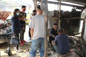 Inventorisation of Hazardous waste of Vehicle workshop at Zunheboto 2