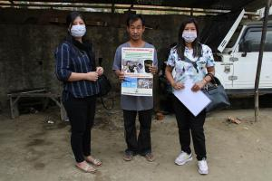 Inventorisation of hazardous waste at Mokokchung
