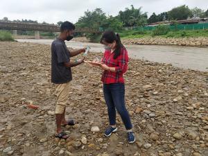Water Analysis at Chathe River