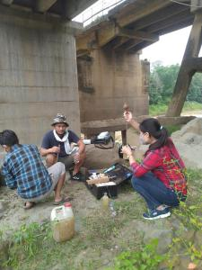 Water Analysis at Dhansiri River Dimapur