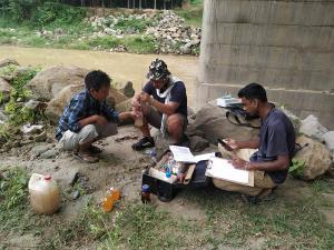 Water Analysis at Dhansiri River